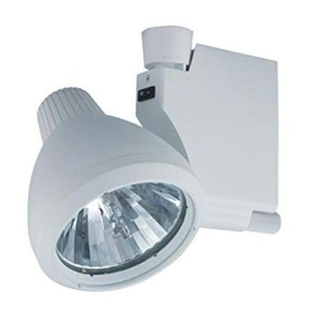 jesco lighting hmh905t439-s 39w metal halide track light fixture, silver