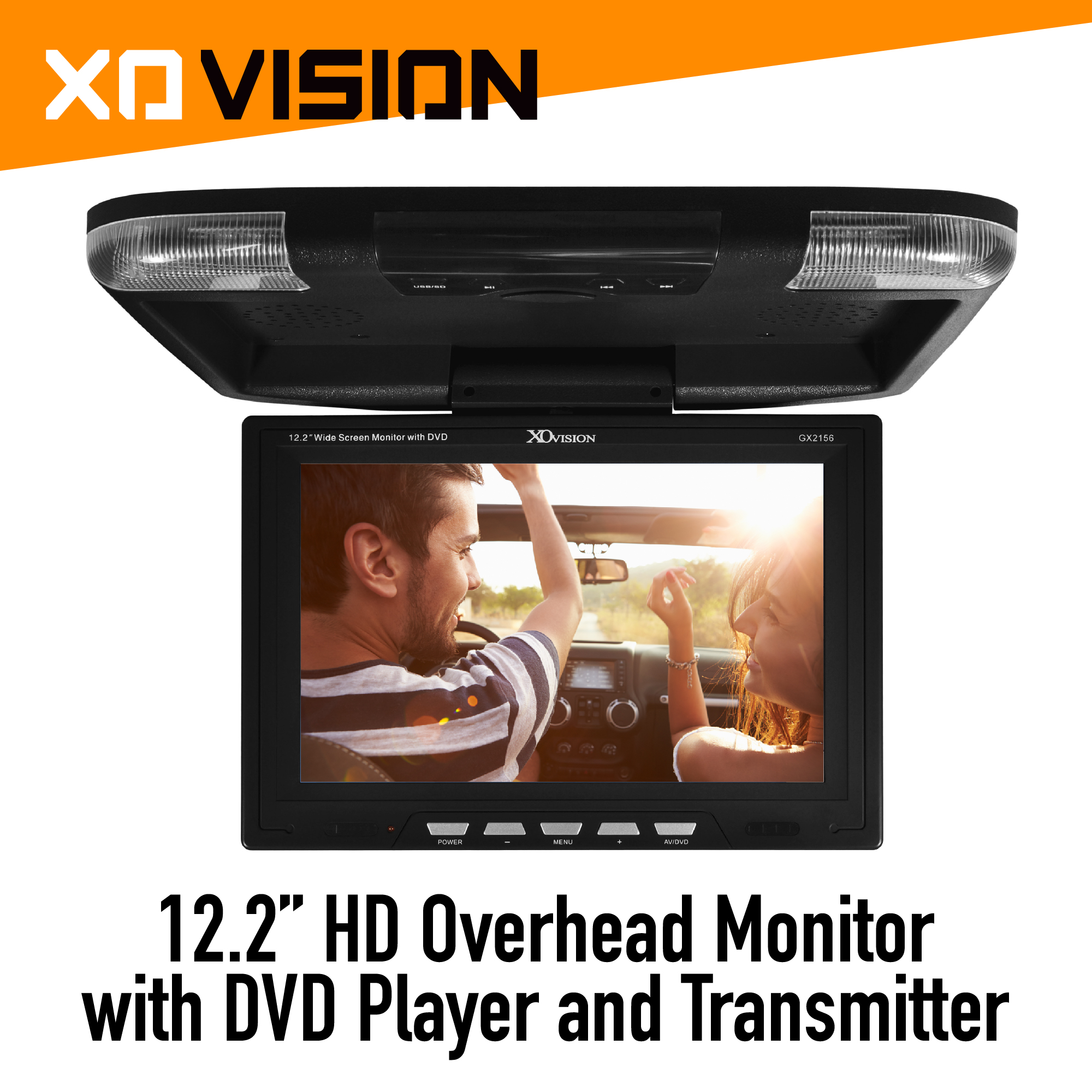 Xo Vision Gx2156b 122 Ceiling Mount Lcd Monitor With Ir