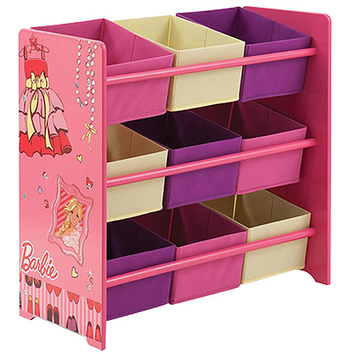 Barbie - Multi-Bin Toy Organizer