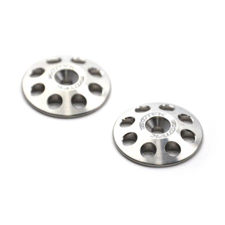 Hobby Exotek Racing Exo1666 1/8 Titanium Xl Wing Buttons 22Mm (2) Upgrade Parts