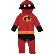 Disney Pixar The Incredibles Baby Boy Girl Costume Coverall with Hood 24 Months