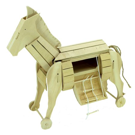 Pathfinders Premium Trojan Horse Wooden STEM Kit