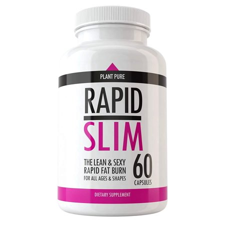 Rapid Slim Keto Pills - Advanced Weight Loss Supplements to Burn Fat Fast - Burn Fat Instead of Carbs - Best Ketosis Supplement for Men and Women - Supports Healthy Weight Loss - Energy and