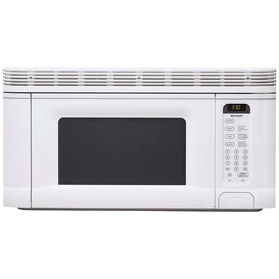 1 4 Cu Ft 950w Over The Range Microwave Oven White