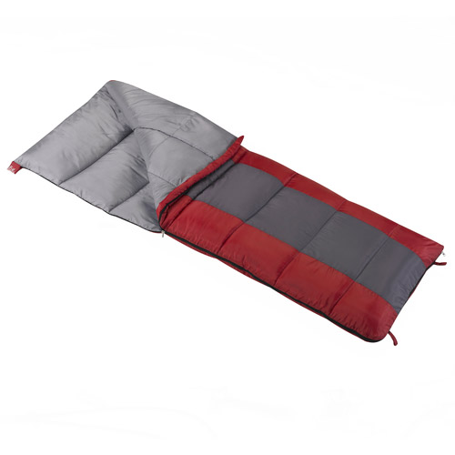Wenzel Lakeside 40-Degree Adult Sleeping Bag, Red by Generic