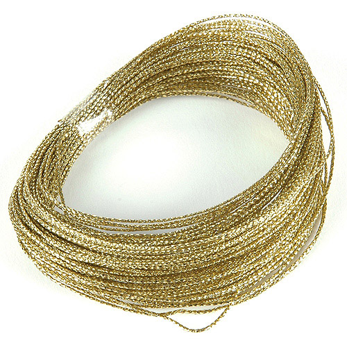Darice Bowdabra Bow Wire, 50', Gold