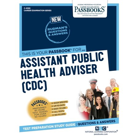 Assistant Public Health Adviser (CDC) - eBook