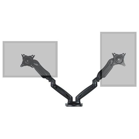 Gas spring Dual Monitor Desk Mount, Fits 17 - 27 in. - image 1 of 1