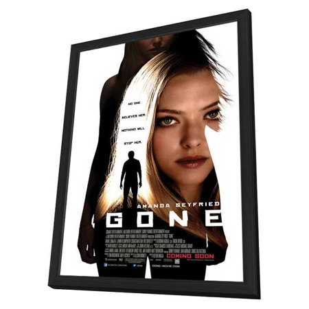 Gone  2012  27X40 Framed Movie Poster