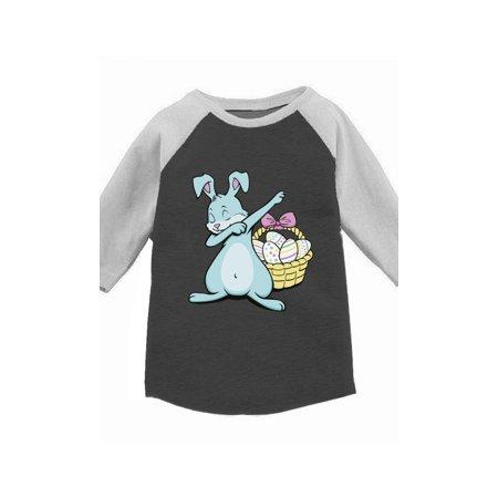 b2f82634 Awkward Styles Dabbing Easter Bunny Raglan Shirt for Kids Easter Bunny  Jersey Tshirt Easter Egg Gifts for Kids Funny Easter Bunny Baseball Jersey  for Boys ...
