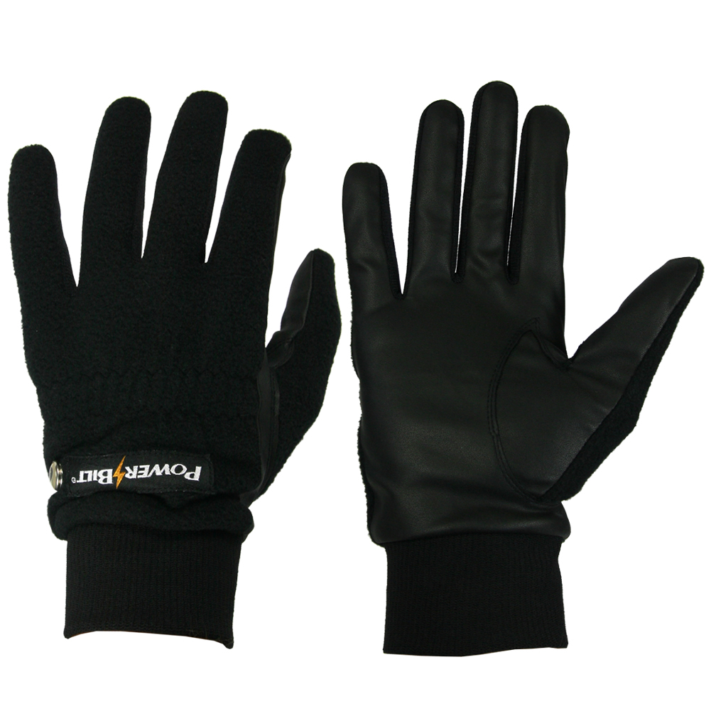 "New PowerBilt ""Weather Beaters"" Cold Weather Golf Gloves 1 Pair Men's MEDIUM Not Applicable by"