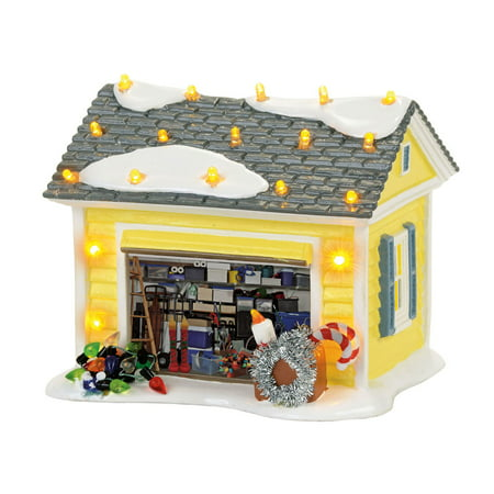 Dept 56 Snow Village 4056686 The Griswold Holiday Garage](Snow Village Dept 56 Halloween)