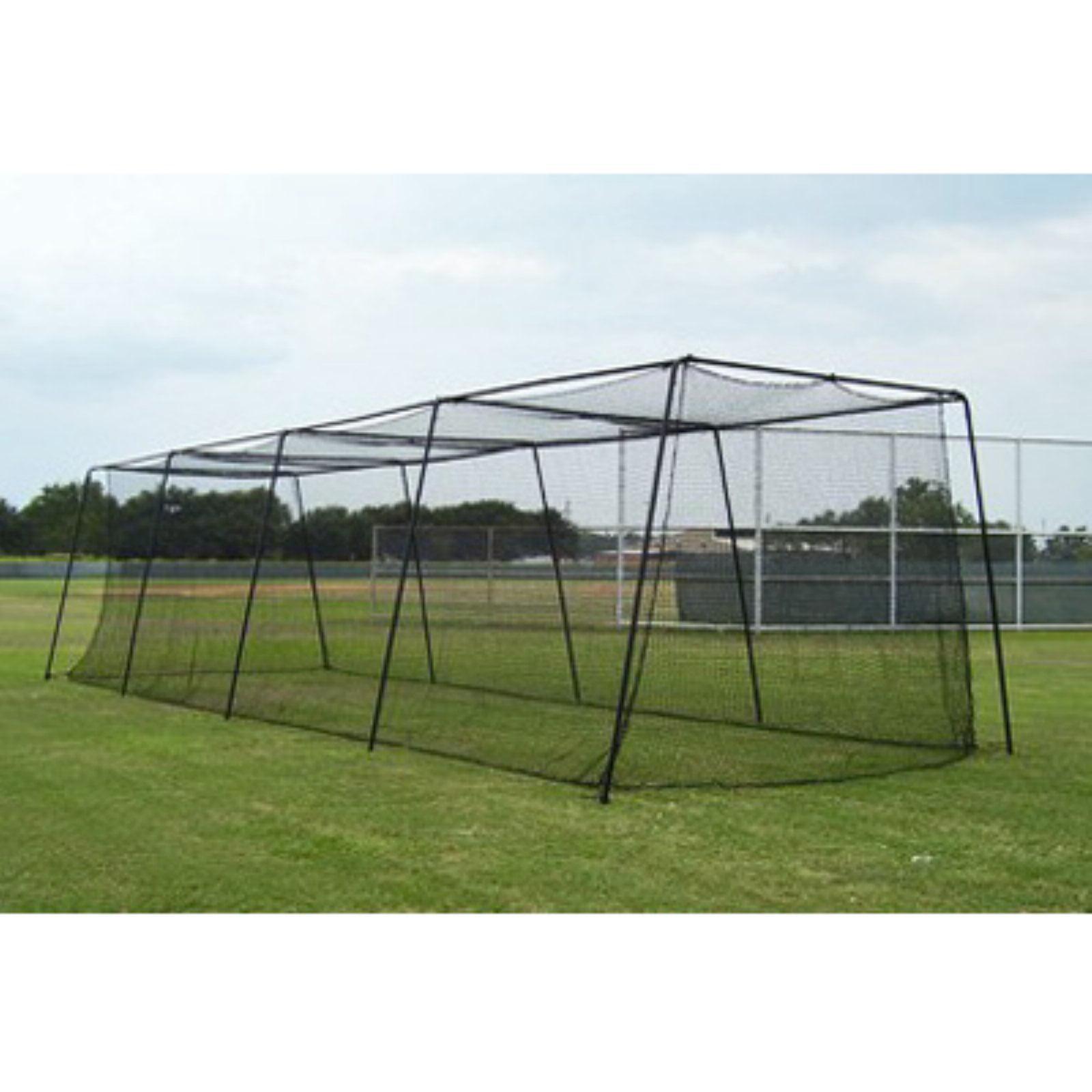 Muhl Sports Baseball Batting Cage - 70 Foot with #45 Net