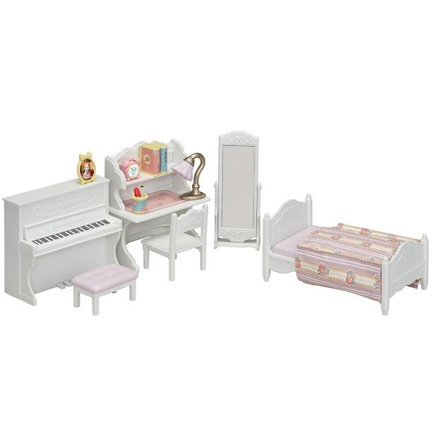 calico critters beauty bedroom set  walmart  walmart