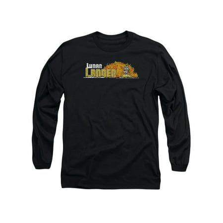 Atari Arcade Games Lunar Lander Game Arcade Design Adult Long Sleeve T-Shirt
