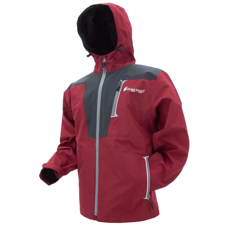 Frogg Toggs Rockslide Jacket Red Carbon Large