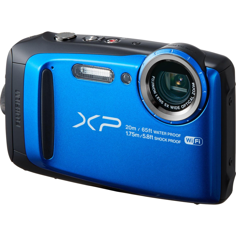 Fujifilm FinePix XP120 Digital Camera - Sky Blue