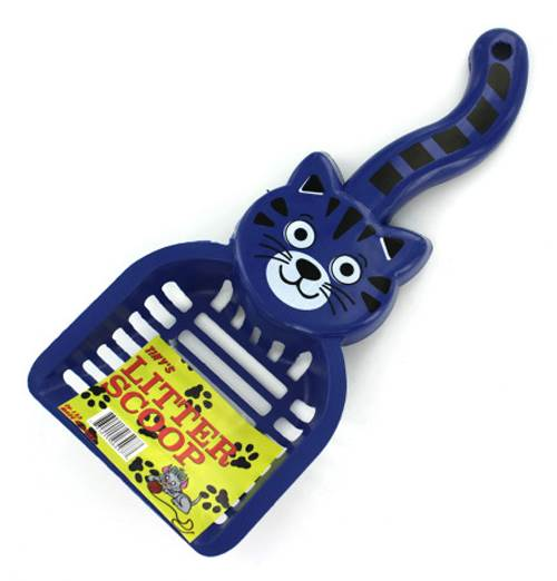 Cat Shaped Litter Scoop - Set of 24