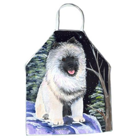 Starry Night Keeshond Apron - 27 x 31 in. - image 1 of 1