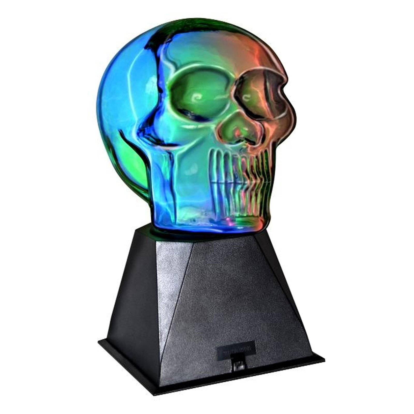 Creative Motion Electrical Plasma Skull Lamp