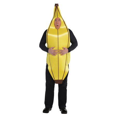 Goin Bananas Adult Costume - Plus Size](Banana Adult Costume)