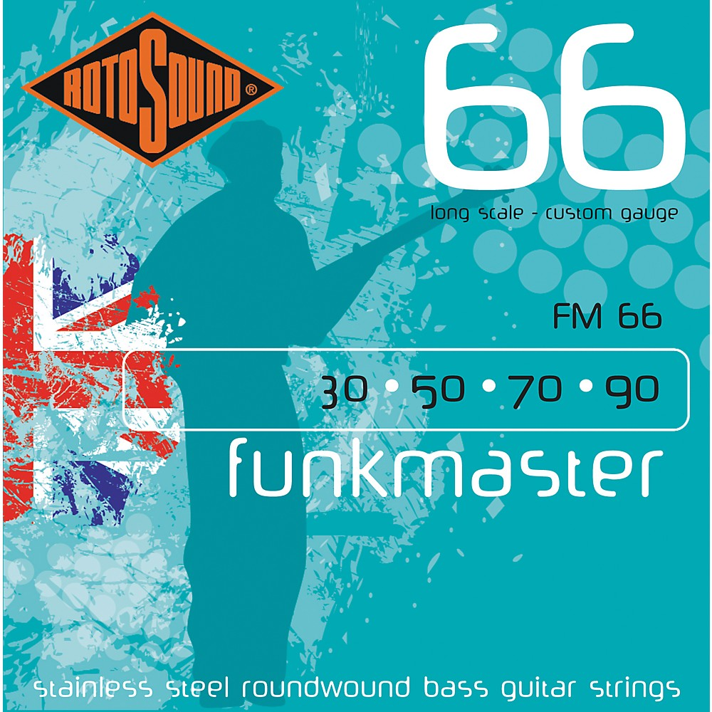Rotosound FM66 Funk Master Bass Strings by Rotosound