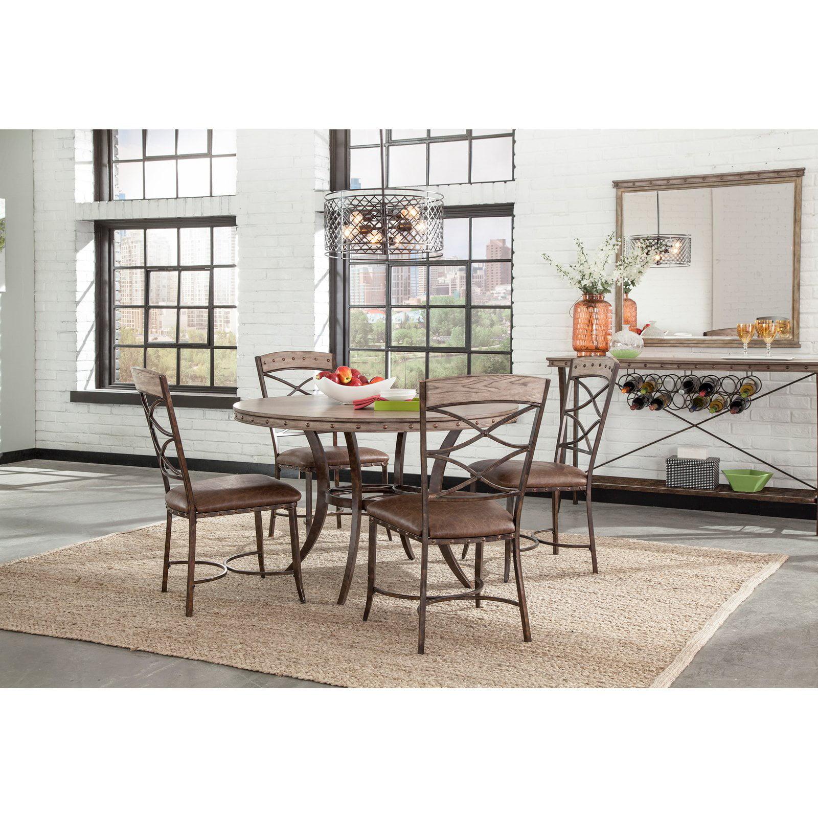 Hillsdale Furniture Emmons 5-Piece Round Dining Set