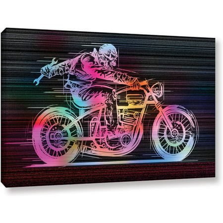 Artwall Greg Simanson  Moto Iv  Gallery Wrapped Canvas