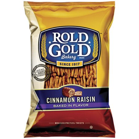 Rold Gold Cinnamon Raisin Braided Pretzel Twists, 10 oz - Walmart.com