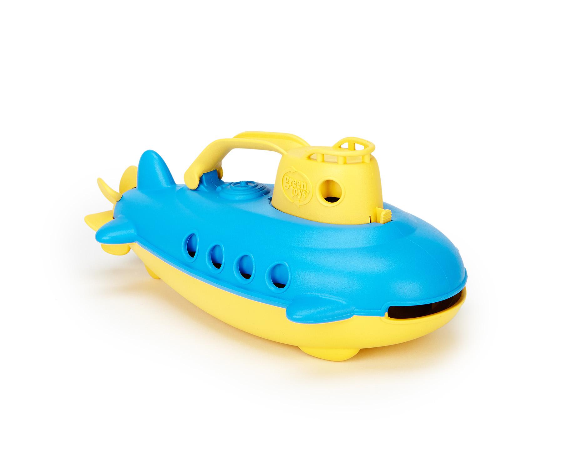 Green Toys Submarine, Yellow Top - Walmart.com