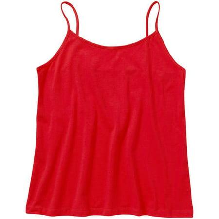 3ad1286d344 Faded Glory - Women s Plus-Size Essential Cami - Walmart.com
