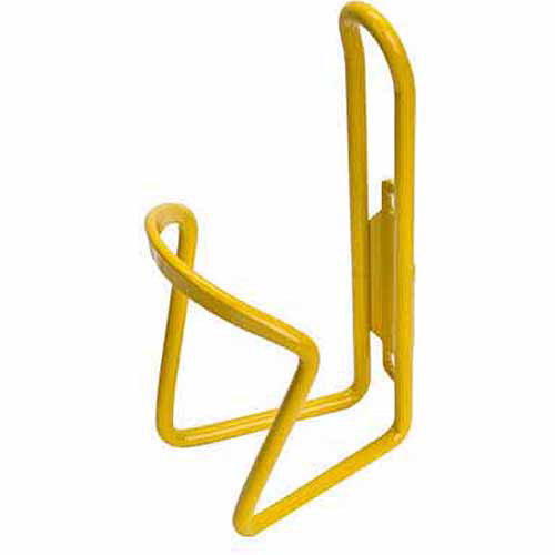 Sunlite Bottle Cage, Alloy, Yellow, 6mm