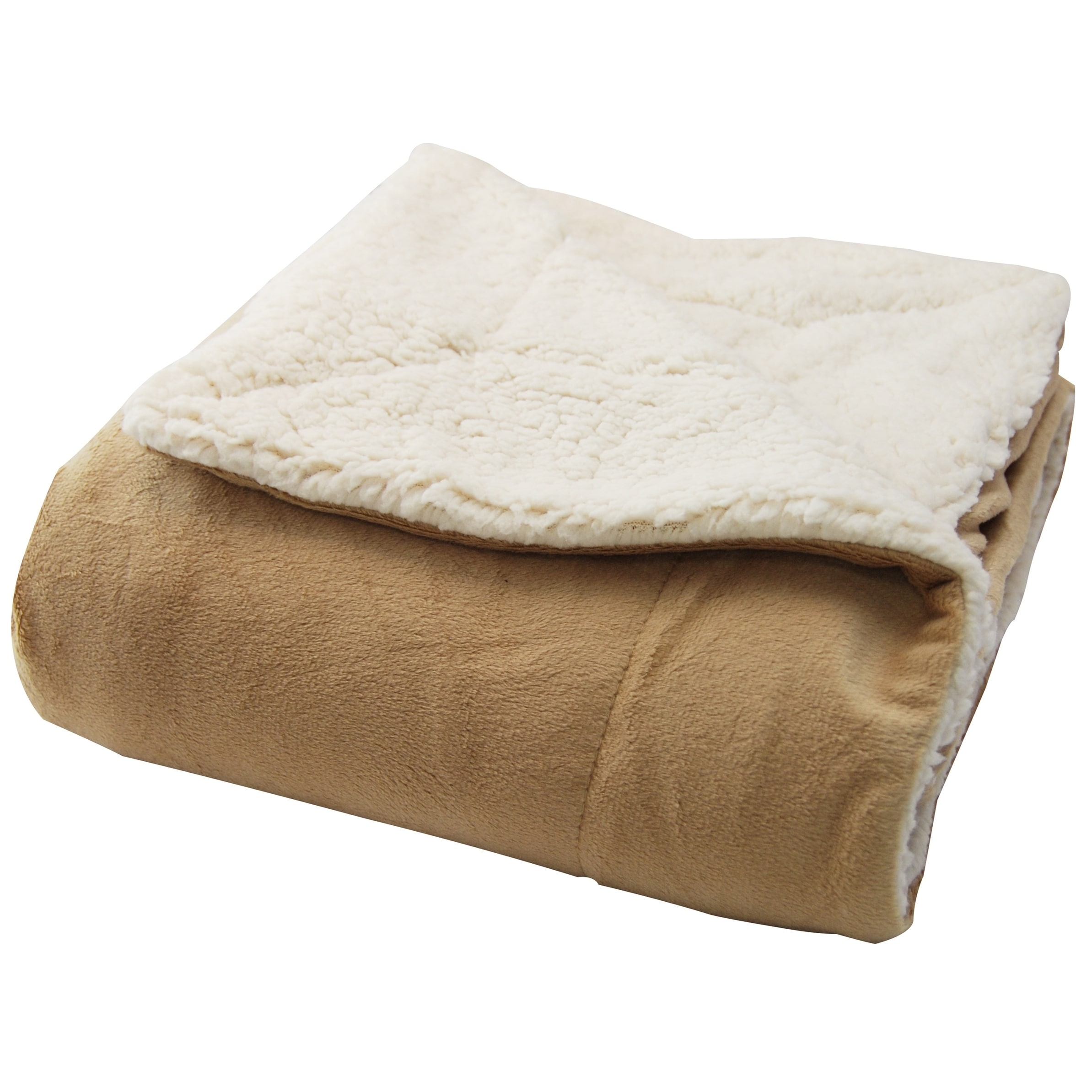 Micromink Sherpa 50 Inch By 60 Throw