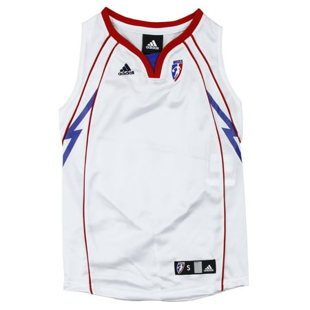 Adidas WNBA Basketball Youth Girls Detroit Shock Replica Jersey, White