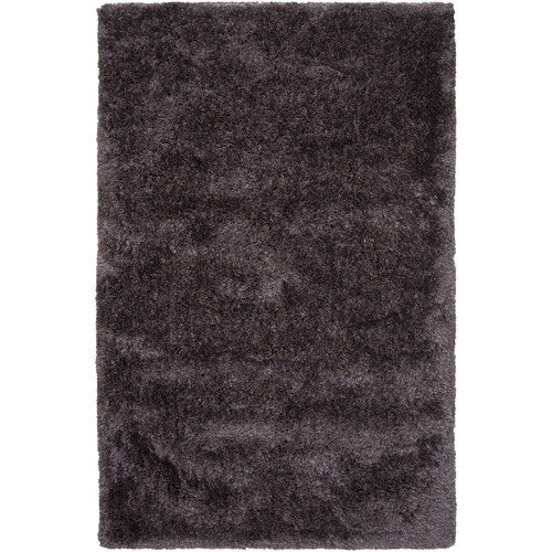 Surya Grizzly Mauve Taupe Solid Area Rug