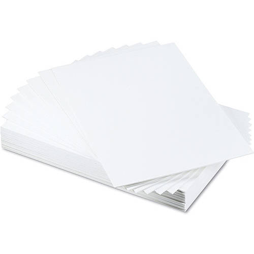 Elmer's CFC-Free Polystyrene White Foam Board, 25/carton