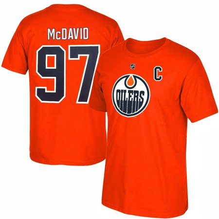 best service cbc3c f673a Edmonton Oilers Connor McDavid NHL YOUTH Player Name ...