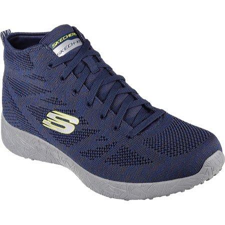 3e4f4d5827 Skechers - 52110 NVY Navy Skechers Shoes Men Memory Foam Sporty High Top  knit mesh Fashion 52110NVY - Walmart.com