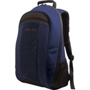 "Mobile 17.3"" Edge Eco-Friendly Canvas Backpack, Black/Blue"