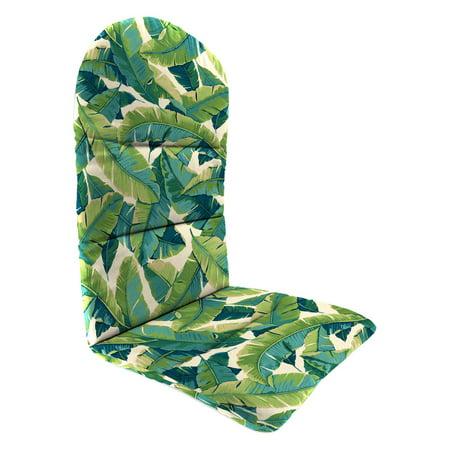 Jordan Manufacturing 49 in. Knife Edge Outdoor Adirondack Chair Cushion - Balmoral Opal ()