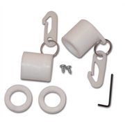 "1"" NEVER FURL NON-WRAPPING DEVICE WHITE"