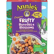 Annie's Breakfast Cereal, Fruity Bunnies and Blossoms Cereal, Certified Organic, 10 oz Box