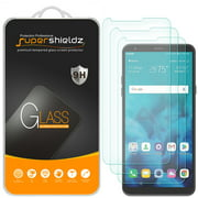 [3-Pack] Supershieldz for LG Stylo 4 Tempered Glass Screen Protector, Anti-Scratch, Anti-Fingerprint, Bubble Free