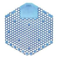 Fresh Products 3WDS60CBLBX Wave 3D Urinal Deodorizer Screen - Blue, Cotton Blossom