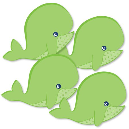 Tale Of A Whale - Decorations DIY Baby Shower or Birthday Party Essentials - Set of 20 (Whale Decorations)