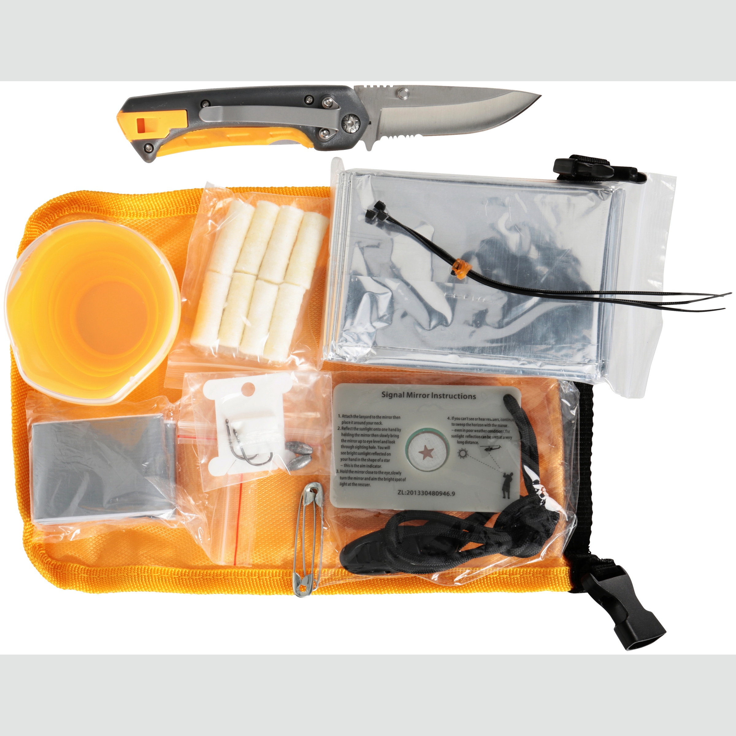 Smith's Outdoor Knife and Survival Kit 11 pc Carded Pack by Smith's Consumer Products, Inc.