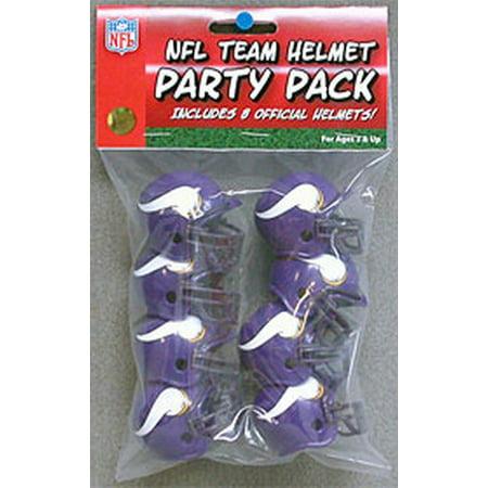 Minnesota Vikings Team Helmet Party Pack (Helmet Party)