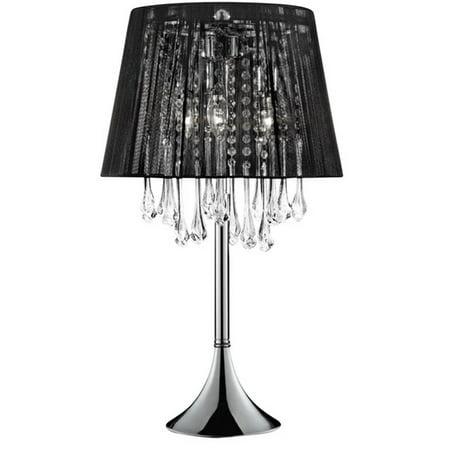 NIGHTFALL CRYSTAL TABLE LAMP ()
