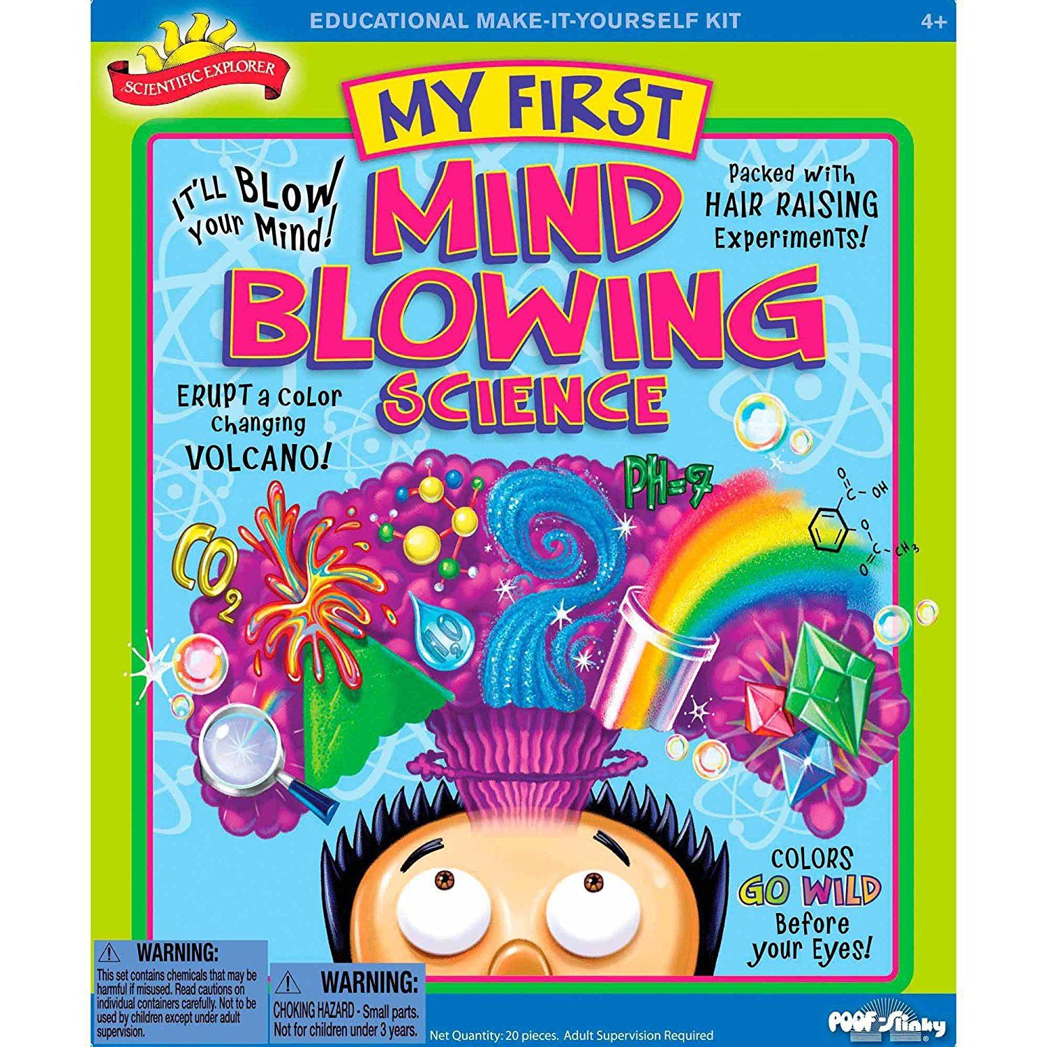 My First Mind Blowing Science Kit by, Scientific Explorer My First Mind Blowing Science Kit by Scientific... by