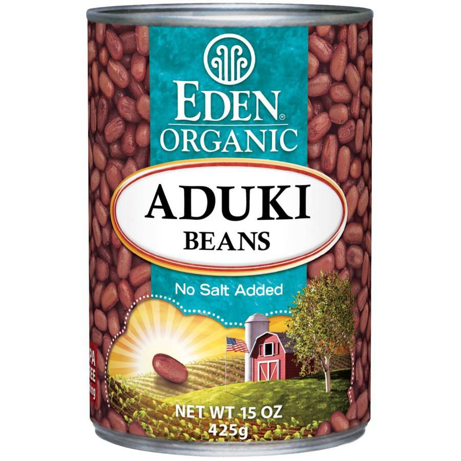 Eden Aduki Beans, Organic, 15 Ounce (Pack of 6) by